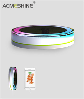 RGB Solar Led Light With Mobile Charger