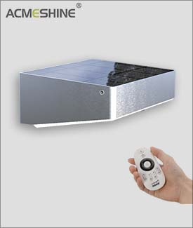 Solar Motion Sensor Light With Remote Controller