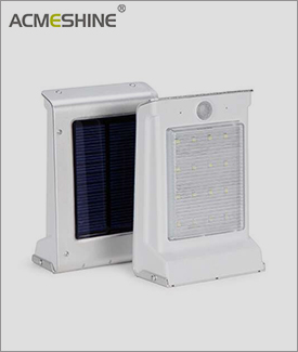 Solar Wall Light With Dual-working Mode