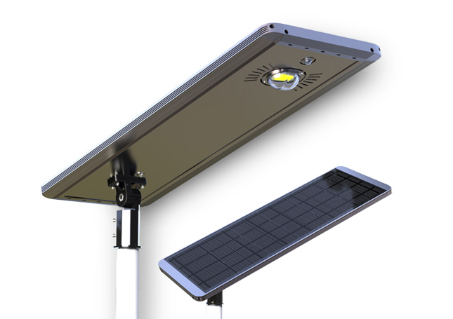 30W All in one solar street light in USA