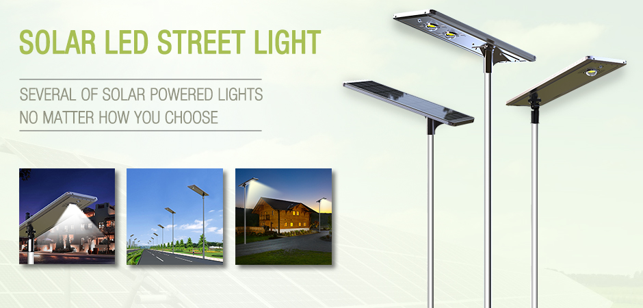 NEW Arrival ! High Power Solar Led Street Light