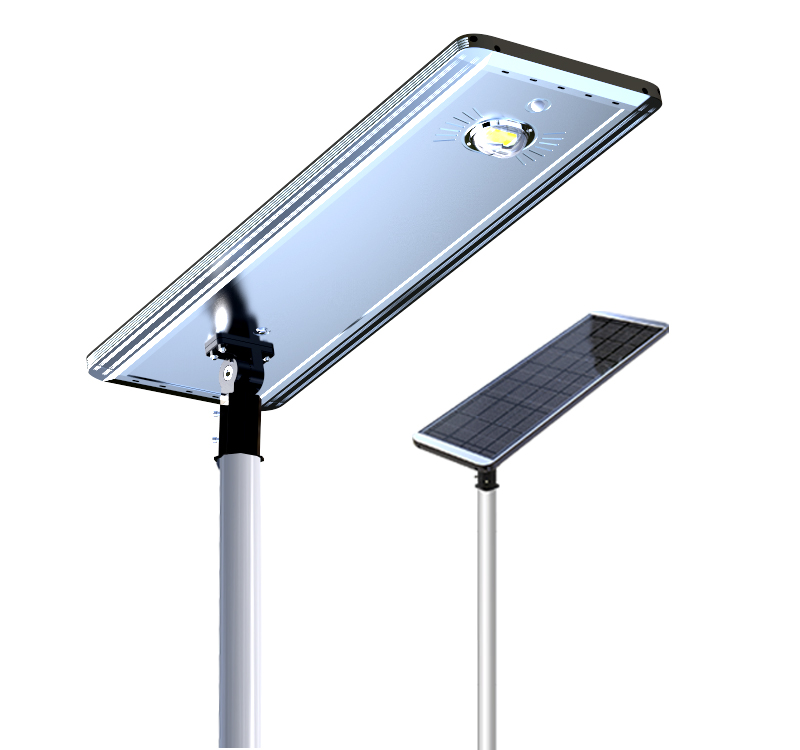 50W Solar Led Street Light PLUS